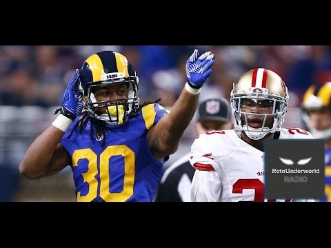 Rams RB Todd Gurley is a strong buy-low in fantasy football dynasty leagues