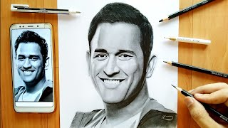 Drawing  M.s Dhoni
