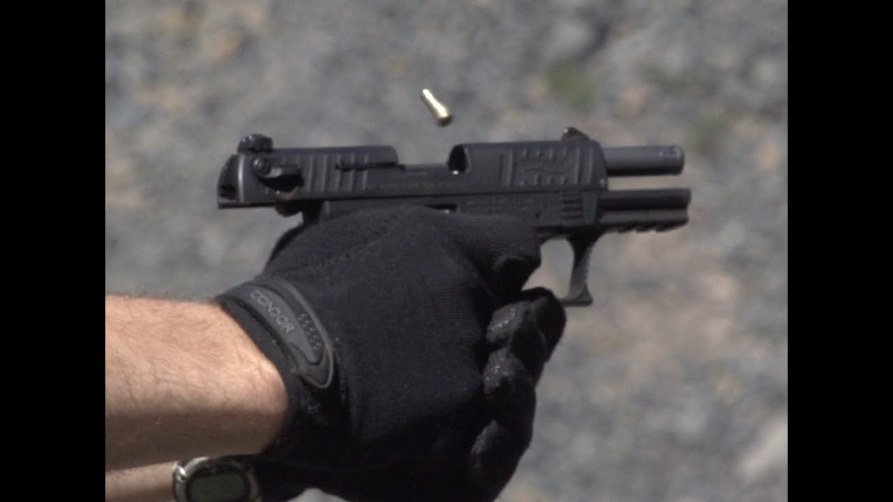 Walther P22 Range Review