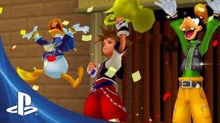 Kingdom Hearts HD 1.5 Remix Launch Trailer