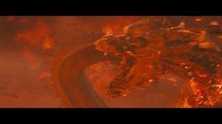 Burning Godzilla's Fury: (Godzilla Defeats Ghidorah)  Long Live the King!!!
