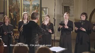 Gregorian antiphon/Maurice Duruflé - Ubi caritas et amor; Vox Clamantis; Jaan-Eik Tulve - conductor