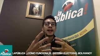 ¿Cómo funciona el sistema electoral boliviano?