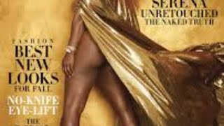 Serena Williams' magazine cover has a lot of people disappointed
