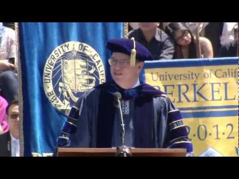 Eric Schmidt - UC Berkeley Commencement Address - May 12, 2012