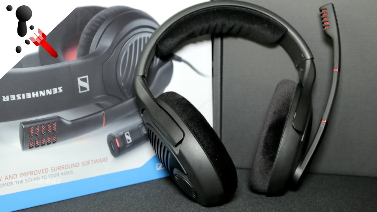 sennheiser pc 373d gaming headset review 7 1 surround sound youtube. Black Bedroom Furniture Sets. Home Design Ideas