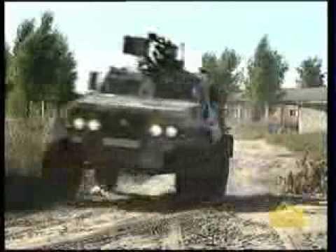 Vehículo blindado ligero Dozor B (Ucrania)