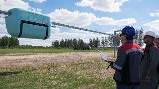 Пресс презентация струнного транспорта SkyWay в Экотехнопарке