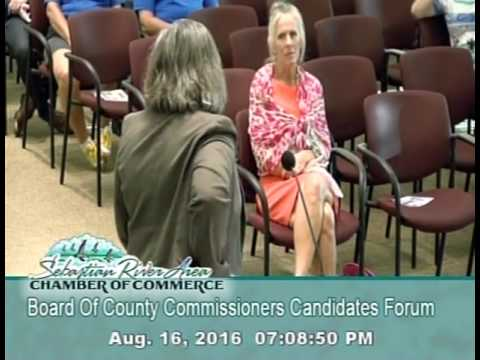 2016 Board Of County Commissioners Candidate Forum