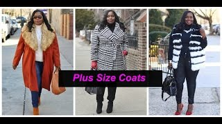 Plus Size Try-On Haul featuring winter coats Mp3
