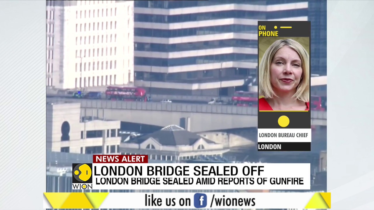 Fineprint: London Bridge sealed amid reports of gunfire