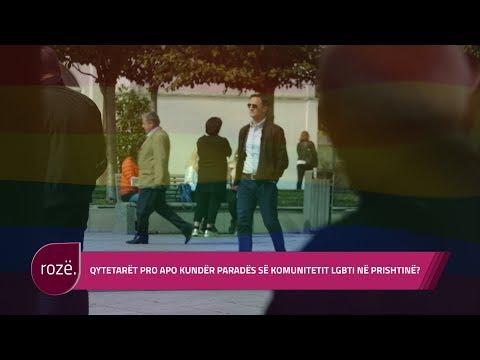 Qytetarët pro apo kundër paradës së komunitetit LGBTI në Prishtinë?