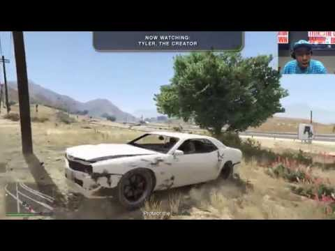Rockstar Stream - Tyler the Creator & Danny Brown (+Taco & Jasper) play GTA V, Sep 22, 2015