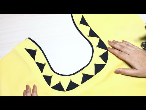 Churidar Neck Designs cutting and stitching || trendy Fashion