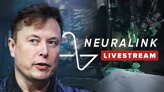 Watch Elon Musk's ENTIRE live Neuralink demonstration