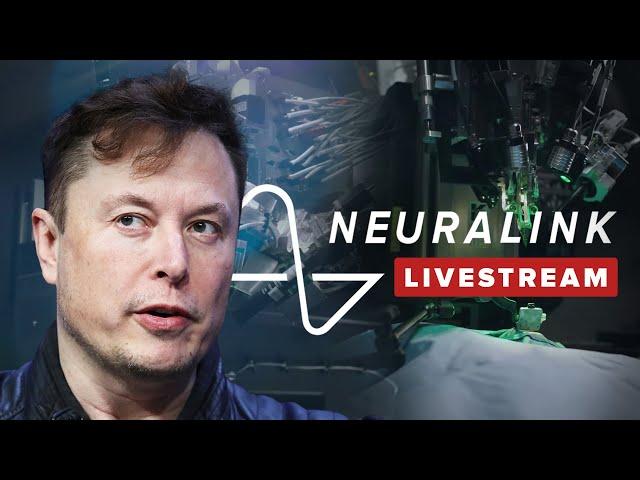 Watch Elon Musk's ENTIRE live Neuralink demonstration