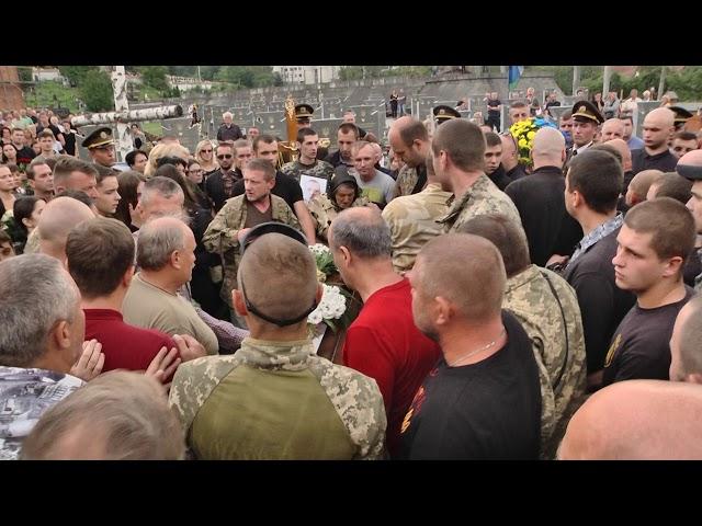 У Львові під час похорону військового сталася бійка між язичниками і  християнами  6e9f015914aea