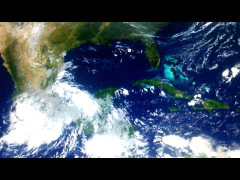 Monitoring Bay of Campeche Two Lows in Atlantic