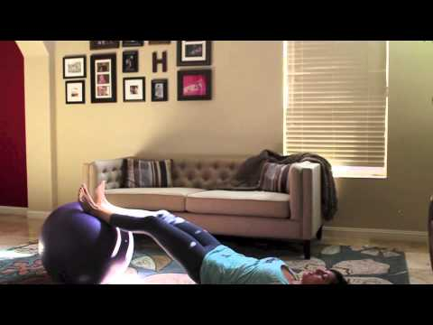 Hard Core Stability Ball Workout
