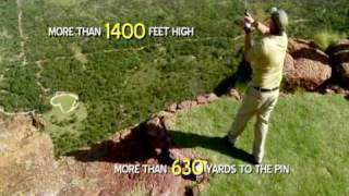 Extremest golf hole ever! 1.000.000 USD for a hole in one!