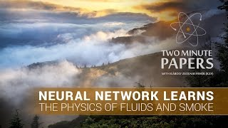Neural Network Learns The Physics of Fluids and Smoke   Two Minute Papers #118