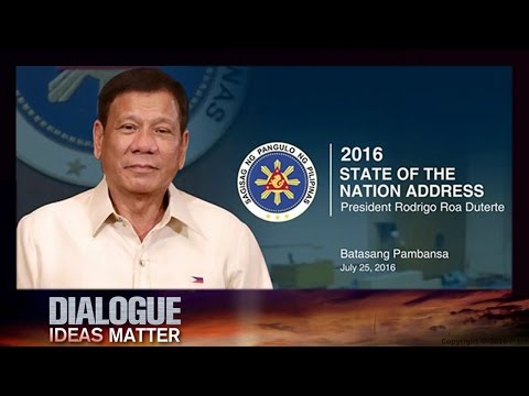Dialogue— Duterte's State of the Nation 07/27/2016 | CCTV
