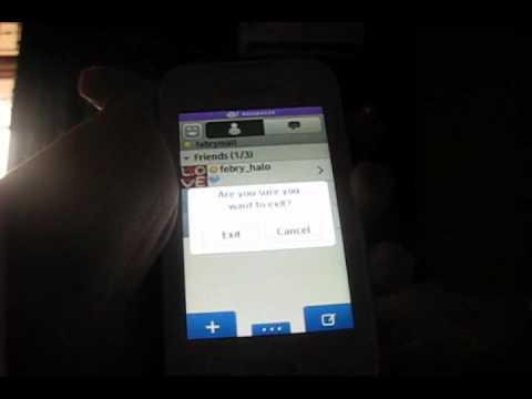 Aplikasi Pada Samsung Wave 533