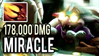 REPORT Miracle! 33 Kills 178k Damage Timbersaw Boss by Miracle- Patch 7.00 Dota 2