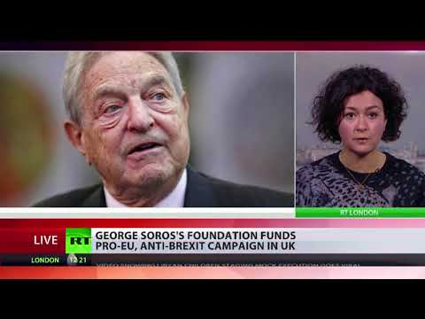 George Soros foundation funds anti-Brexit campaign