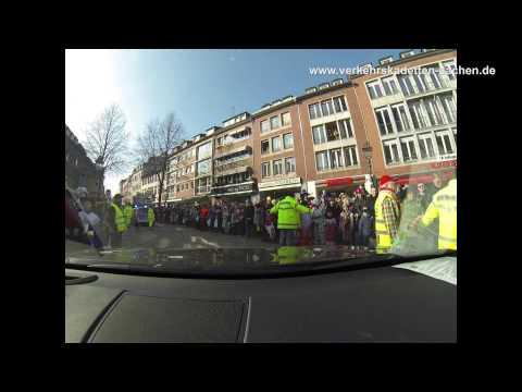 Verkehrskadetten Aachen Karneval Einsatz 2015