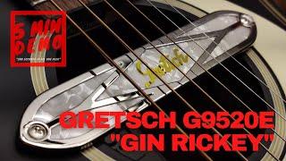 5 Minute Demo: Gretsch G9520E Gin Rickey Acoustic-Electric Guitar