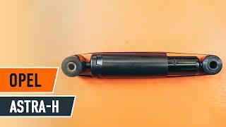 Installazione Kit ammortizzatori anteriore OPEL ASTRA: manuale video
