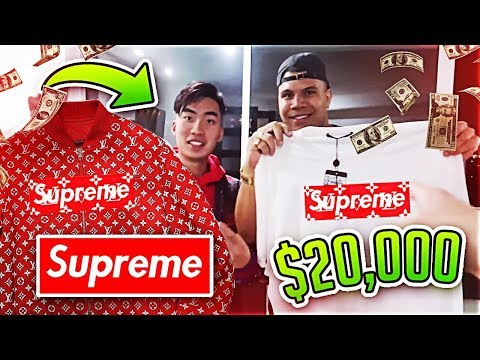 Thumbnail: BUYING $20,000 OF CLOTHES IN A DAY CHALLENGE
