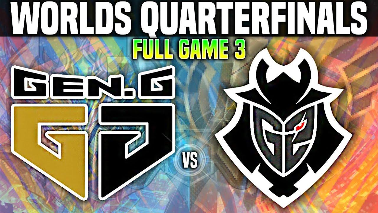 GEN vs G2 Game 3 Worlds 2020 QUARTERFINALS - GEN G vs G2 Game 3 Worlds 2020 QUARTERFINALS