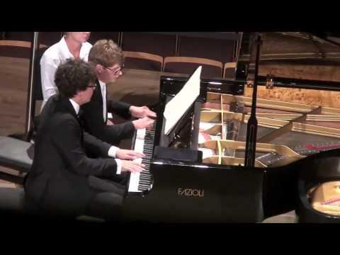 """""""Striking Pianists""""  Pavel Kolesnikov & Samson Tsoy"""