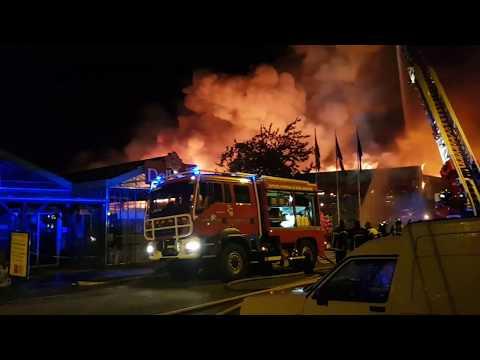 DUCLAIR: Images impressionnante de l'incendie