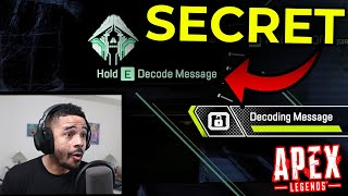 APEX LEGENDS: NEW CRYPTO TEASE IN A SECRET VENT!! (HAVE TO FLY YOUR DRONE!)