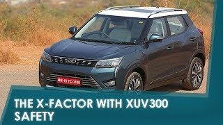Sponsored - The X-Factor with XUV300: Safety | NDTV carandbike