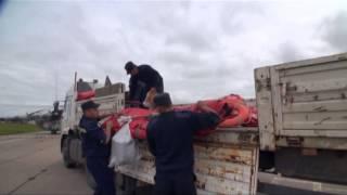 Облет ВВО(Уровень Амура в Хабаровске продолжает повышаться. На помощь МЧС для перевозки грузов - лодок, спасательных..., 2013-08-26T03:14:27.000Z)