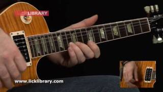 Peter Green - Black Magic Woman - Solo Performance - www.licklibrary.com