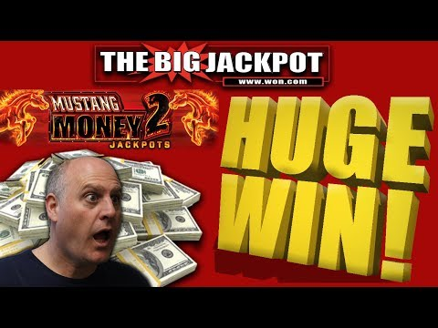 ★ HUGE WIN ★ FREE GAMES JACKPOT 💣MUSTANG MONEY 2 PAYS OUT BIG!