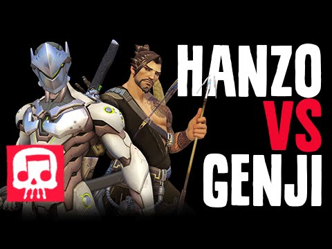 HANZO VS GENJI Rap Battle by JT Machinima (Overwatch Song)