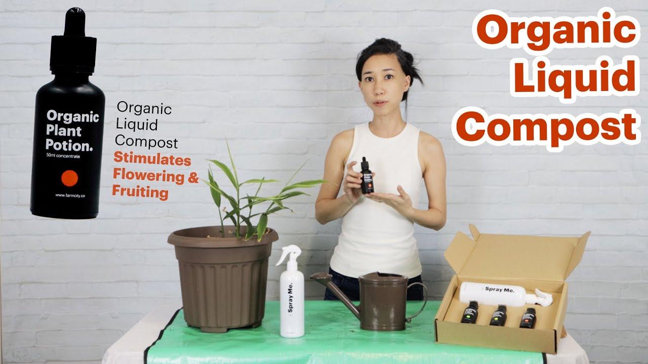 Organic Liquid Compost Potion