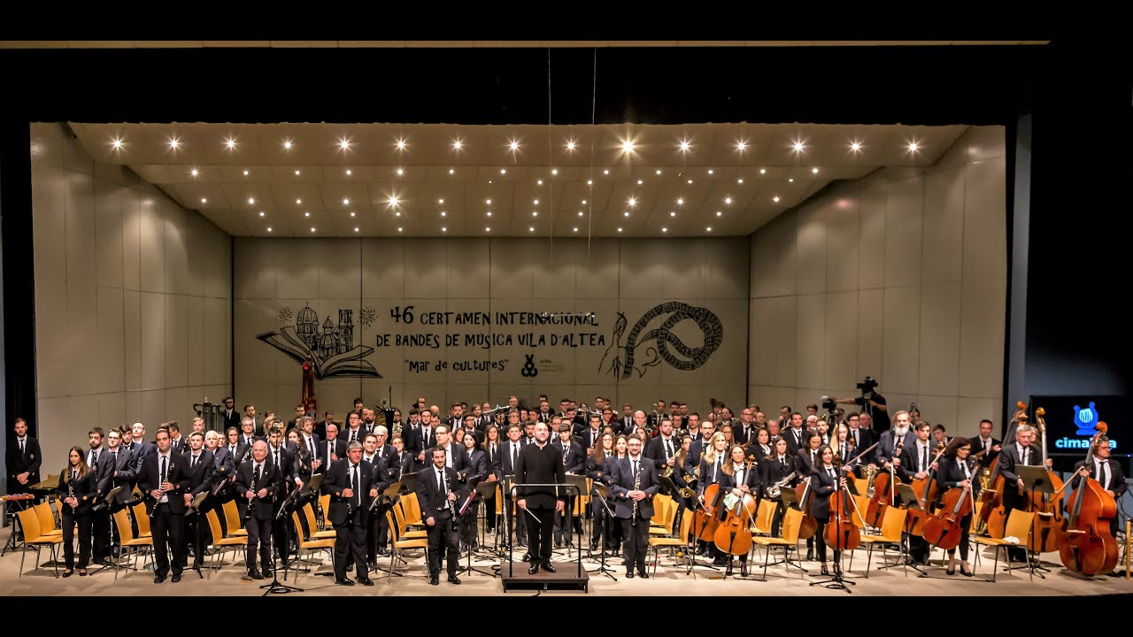 2019 Nov BANDA SINFÓNICA UNIÓ MUSICAL DE LLÍRIA – Certamen Internacional de Bandas de Música Altea