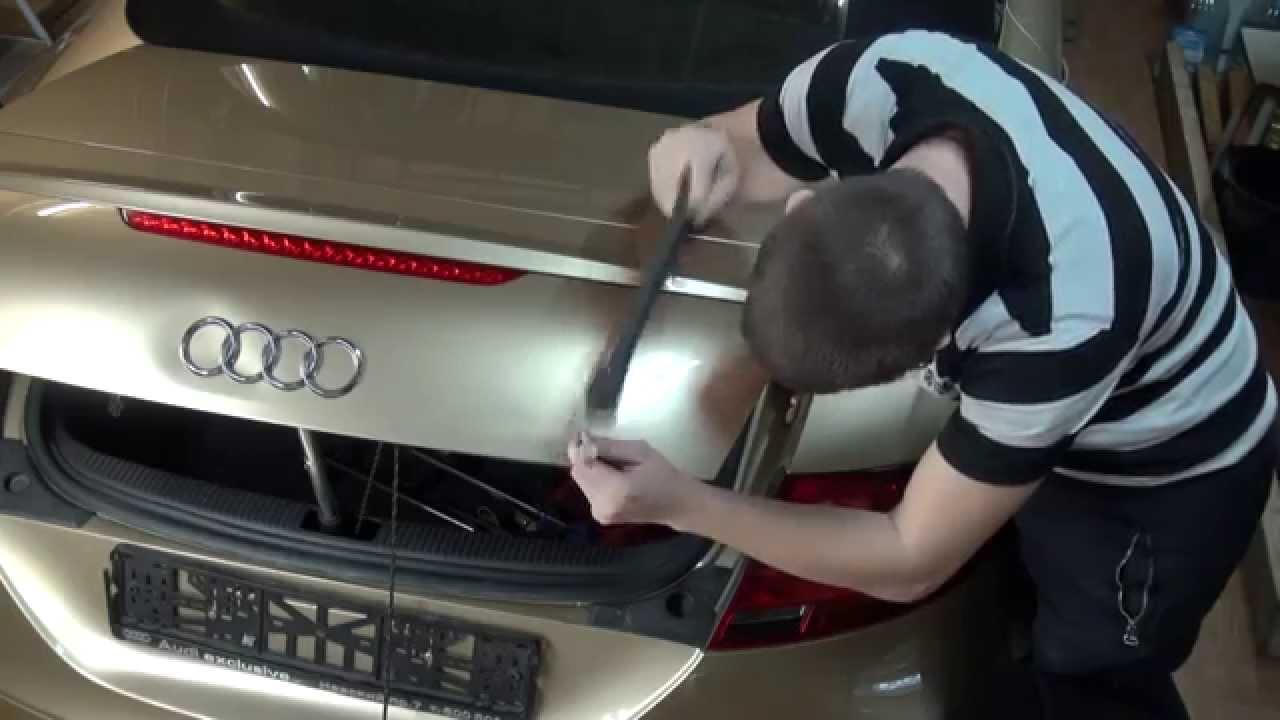 Audi ремонт PDR