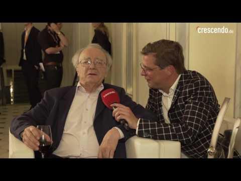 Crescendo trifft: Alfred Brendel