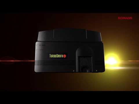 Konami enters the retro console wars with the TurboGrafx-16 Mini