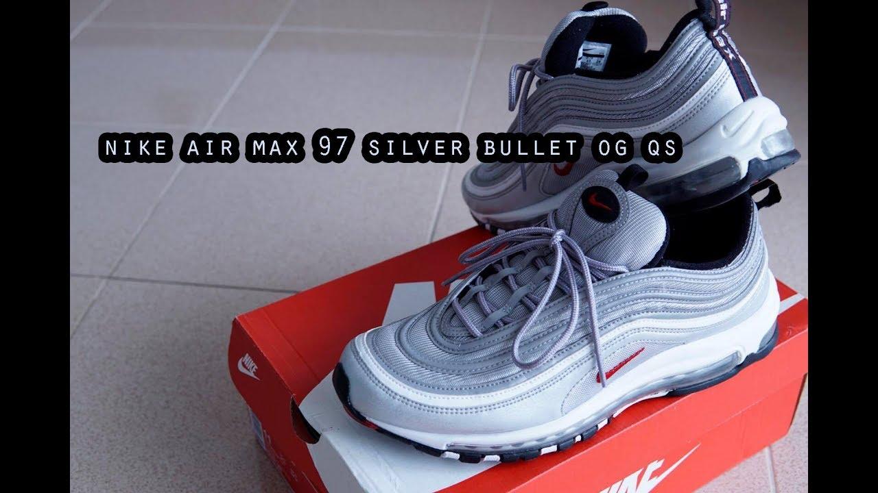 ีรีวิว : NIKE Air max 97 Silver Bullet OG QS