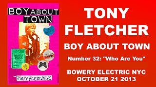 Boy About Town Excerpt: Who Are You?