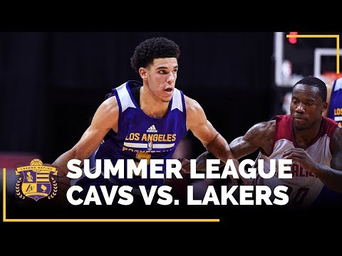 LAL vs. CLE Recap: Lonzo Ball Records 2nd Triple-Double, Sending Lakers To Quarterfinals